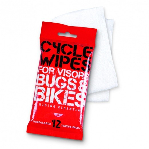 Altrider Cycle Wipes Disposable Visor / Bike Cleaner - Single Pack (12 Wipes)