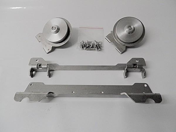 GLOBESCOUT Kit de Fixation Coffres XPAN / XPAN+ aux Porte-Bagages SW-Motech Quick-Lock