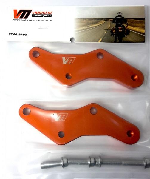 Vanasche Motorsports Sozuisfussrastentieferlegung KTM 1050 1090 1190 1290