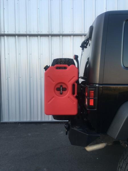 Rotopax Jeep JK Hecktürhalterung für Rotopax-Kanister