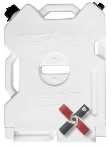 Rotopax Water Pack Bidon d'Eau 2 Gallons
