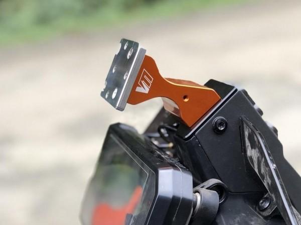 Vanasche Motorsports Hondo Adapterplatte für GPS-Adapter KTM 390 790 890 Adventure