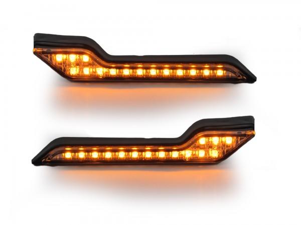 Barkbusters Clignotants LED Jaunes pour Coques VPS, Jet et Storm