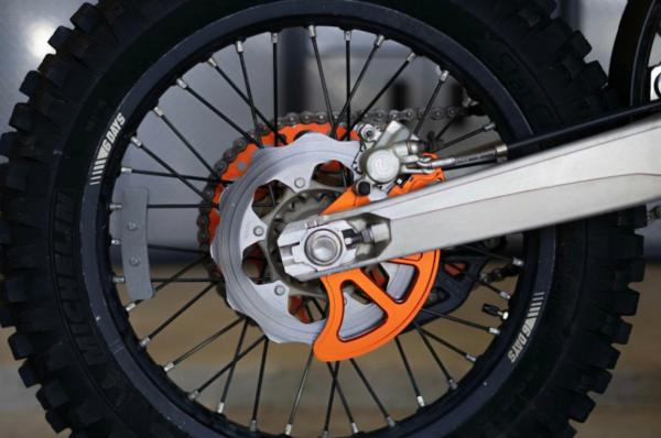 Vanasche Motorsports Couverture de Disque de Frein Arrière KTM Husqvarna Husaberg