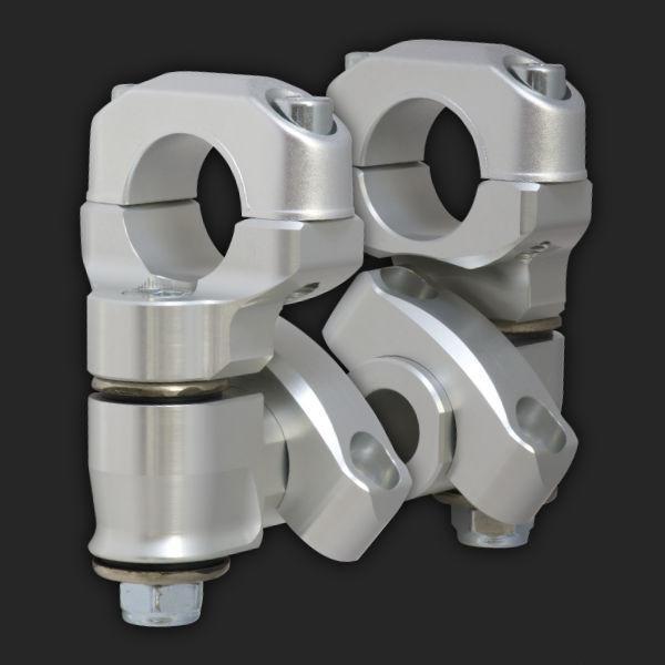 ROX Pivot Anti-Vibe Lenkererhöhung 50mm für BMW R1200GS LC ab 2013