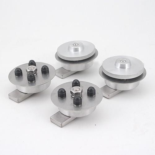 GLOBESCOUT Kit de Fixation Coffres XPAN / XPAN+ aux Porte-Bagages 16mm diamètre