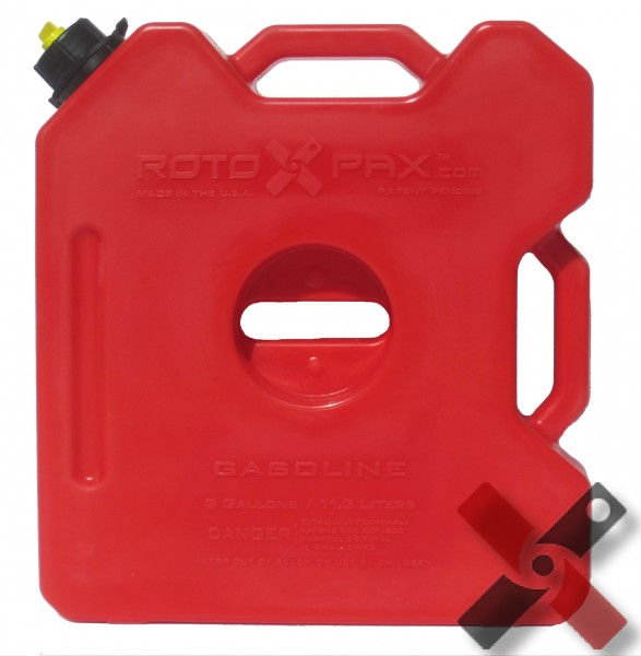 Rotopax Gasoline Pack Bidon d'Essence 3 Gallons